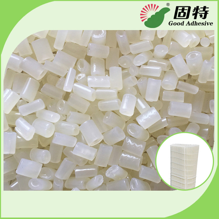 Yellowish Granule EVA Hot Melt Glue Adhesive Pleated Carbin Car Air Filter Transparent