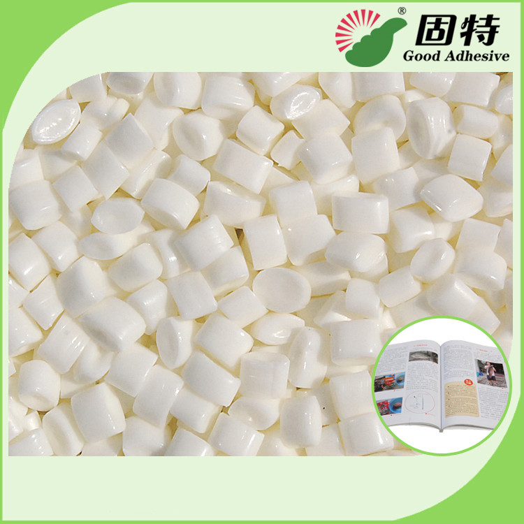 White Granule EVA And Viscosity Resin Spine Hot Melt  Glue For Bookbinding , Less Bubbles