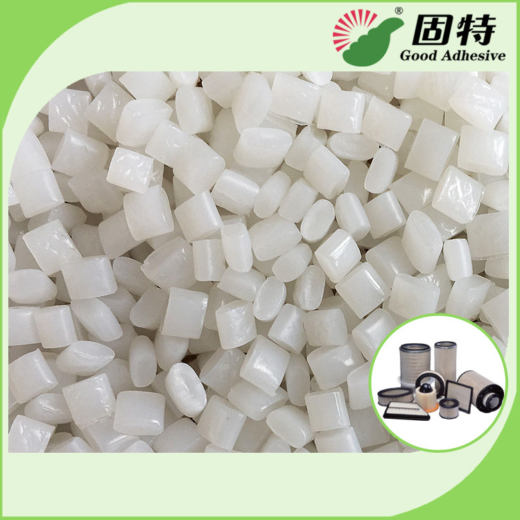 Colorless Hot Melt Glue Assembly / Polyolefin Hot Melt Adhesive For Air Filter